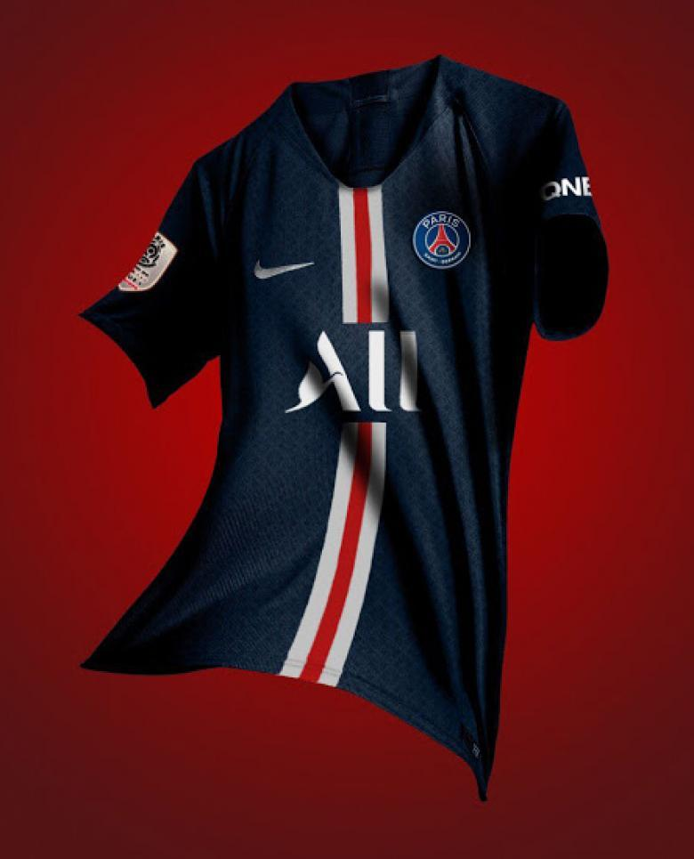 reputable site bdbf1 a7cdc Liguer 1 - PSG: New sponsor to feature on next season's ...