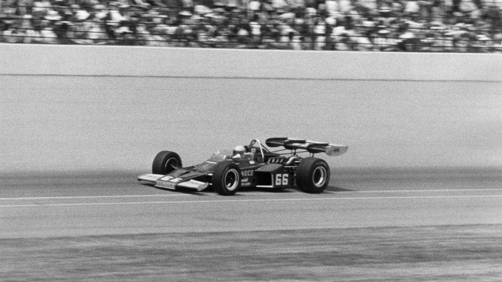 Mark Donohue, con el 66 en 1972.