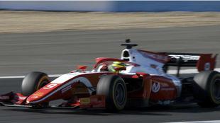 Mick Schumacher, en Jerez.
