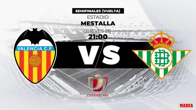 Copa Del Rey Valencia Betis Horario Y Dónde Ver Hoy En Tv La