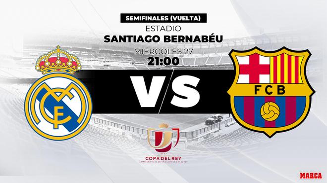 Copa Real Madrid Barcelona Hora Canal Y Donde Ver En Tv Hoy El Clasico De Copa Marca Com