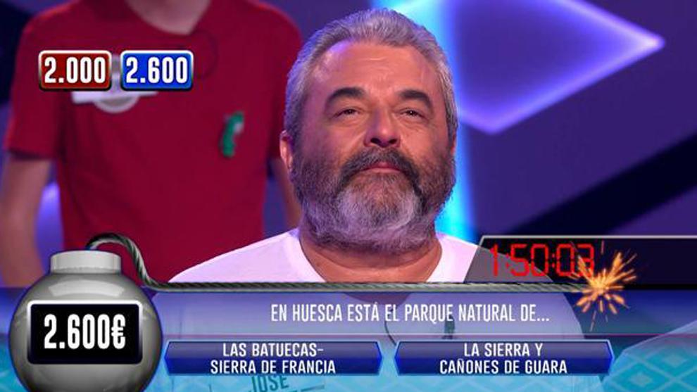 José Pinto en un momento de Boom