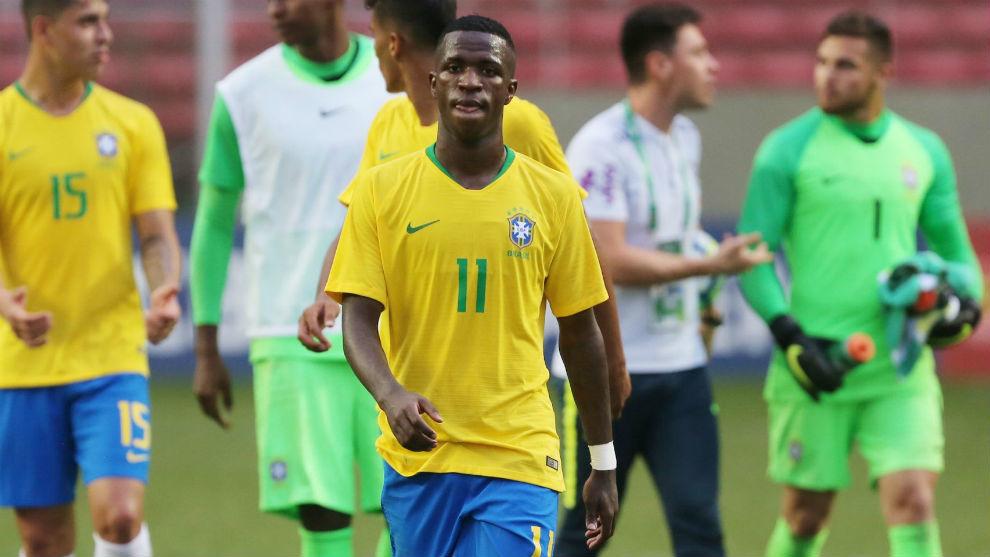 Vinícius Jr es convocado por Tite a la Selección de Brasil