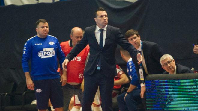 Diego Giustozzi, durante el partido ante el Levante.
