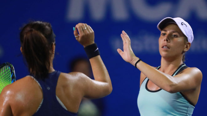 Giuliana Olmos conquista pase a Final de dobles en el AMT