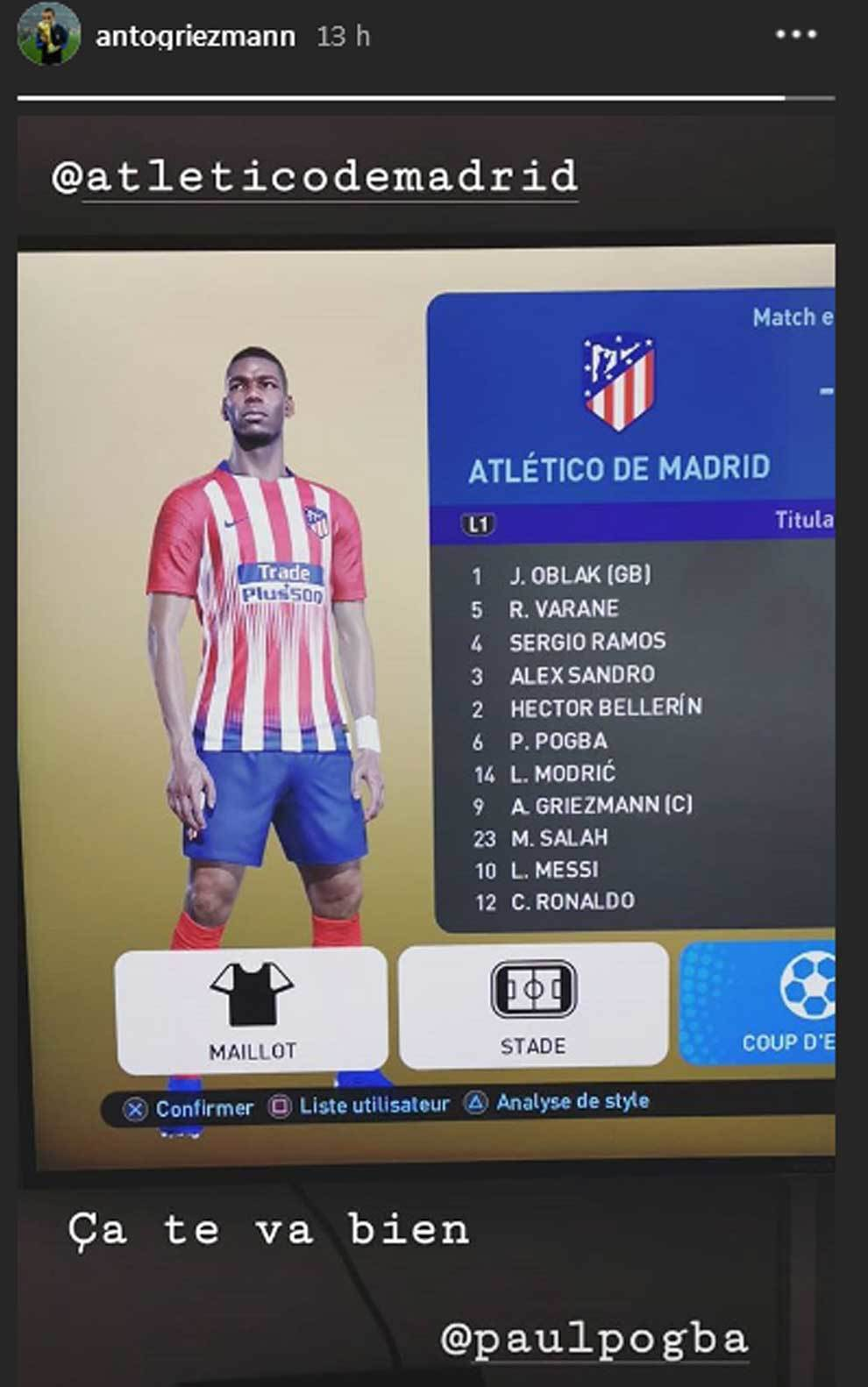 meet b9e3c c524f LaLiga Santander: Griezmann after signing Pogba on FIFA: The ...