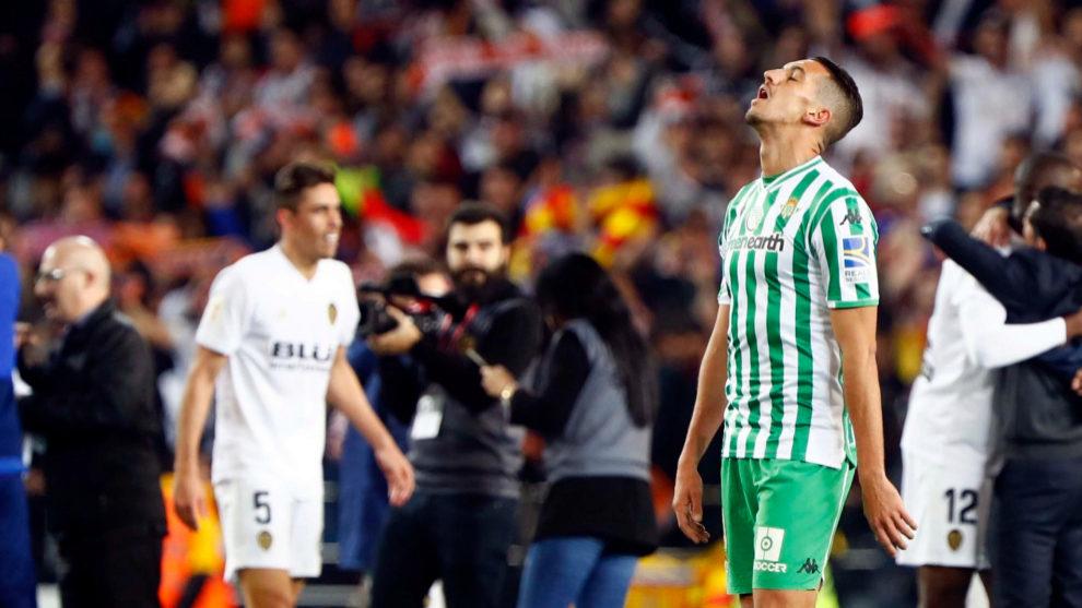 Zou Feddal, tras caer en Valencia en las semifinales de Copa.