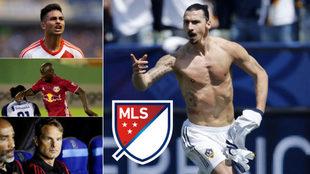 'Pity' Martínez, Bradley Wright-Phillips, Frank de Boer e...