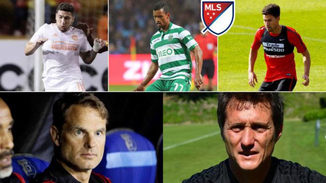 MLS signings.