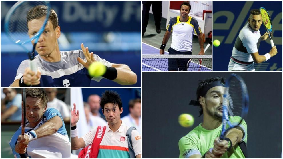 Seis de los tenistas que han intentado sacar de sus casillas a Nadal