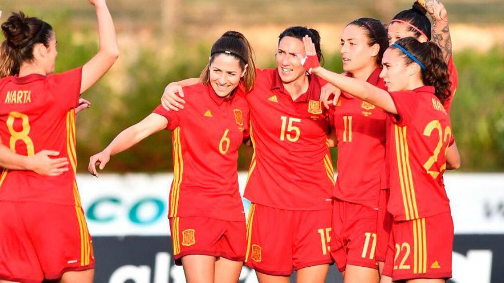 cf9871f77e5d1 Mundial Femenino 2019  Las jugadoras de la selección española ...