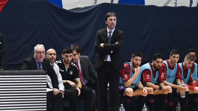 Imanol Arregui, en el partido ante Peñíscola.