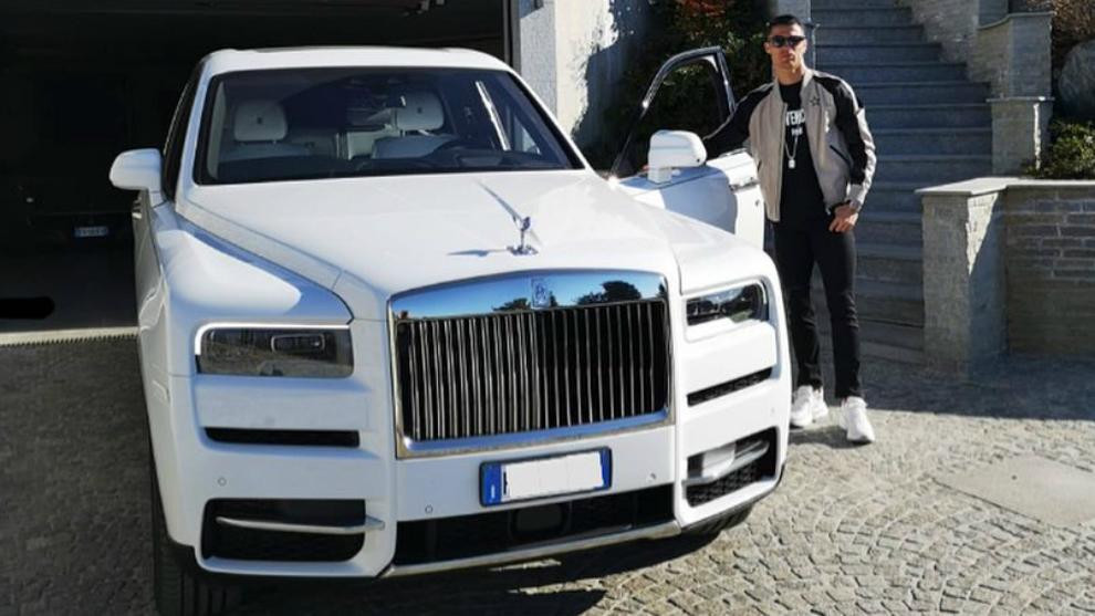 Cristiano Ronaldo amplía su impresionante colección de coches con ...