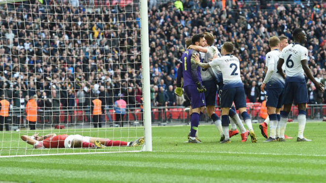 Mauricio Pochettino happy to escape unscathed from north London derby