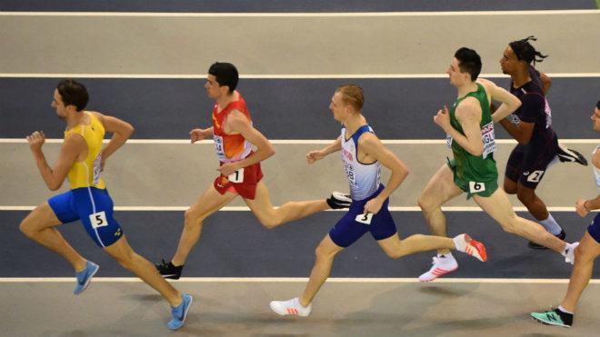 Mariano García, segundo, en la semifinal de 800 metros