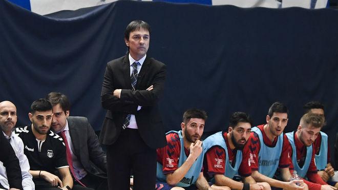 Imanol Arregui, durante un partido.