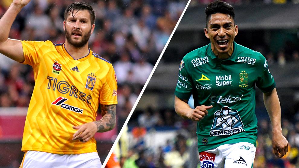 Tigres y León, fieras desatadas en la Liga MX.
