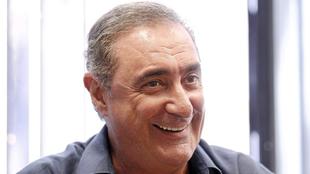 Carlos Herrera en una entrevista con MARCA