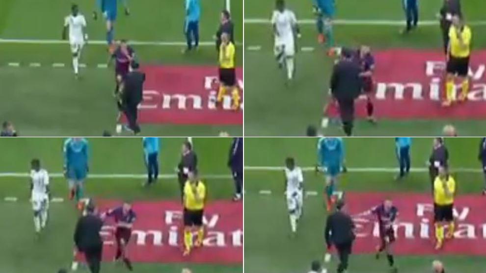 La secuencia de 'Gol' con Chendo y Jordi Alba