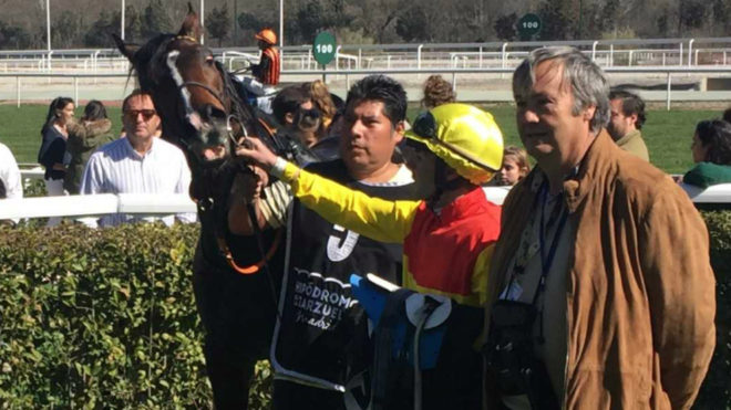 Sir Roque tras su triunfo.