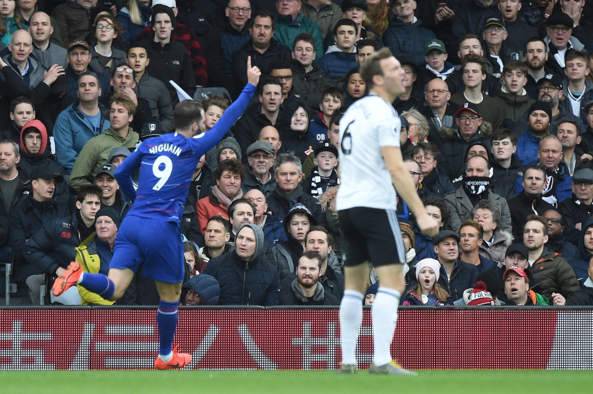 Chelsea no pierde el paso y se impone de visita al Fulham