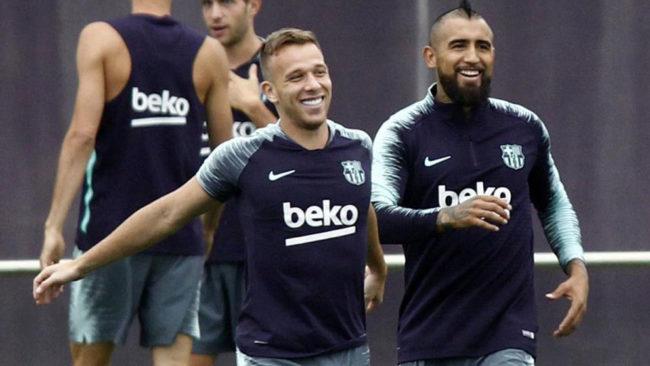 Arthur y Vidal.