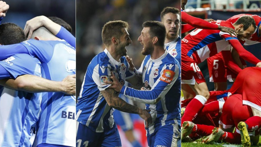 Aclarar Nathaniel Ward Siesta  Segunda División: Málaga, Deportivo y Granada, los favoritos de los  aficionados para ascender a Primera   Marca.com