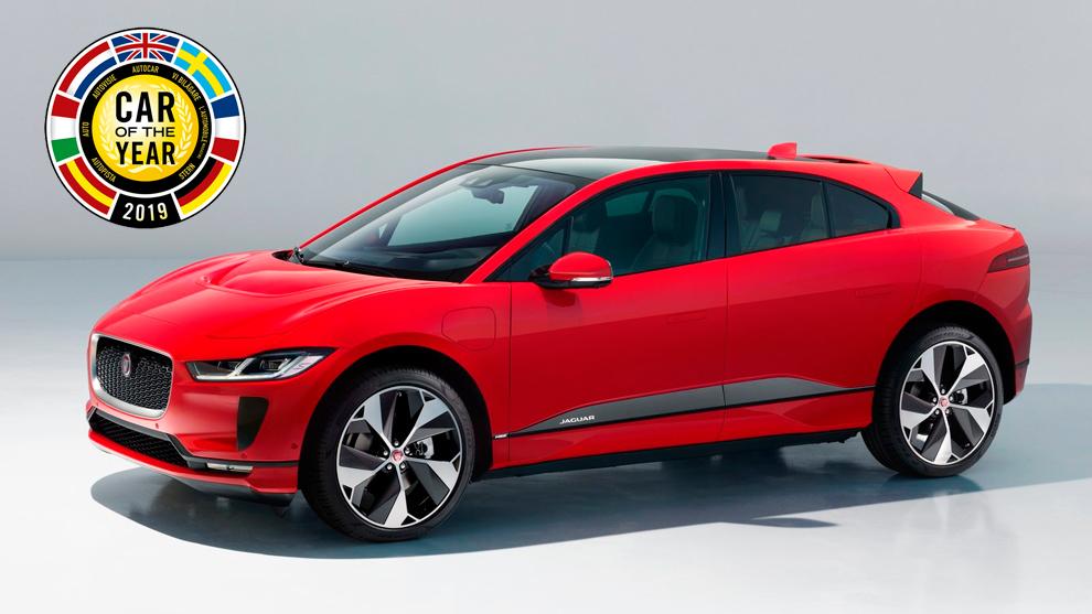 Jaguar eléctrico es nombrado Auto del Año en Europa