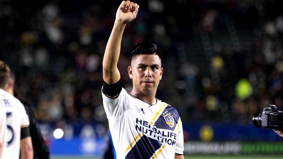 Galaxy, MLS, Efraín Álvarez