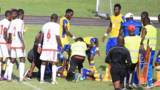 Muere un futbolista en Gabón por un colapso en pleno partido