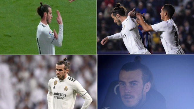 The different episodes of Bale in the last month