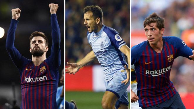 Piqué, Stuani y Sergi Roberto sumaron 15 puntos Fantasy.