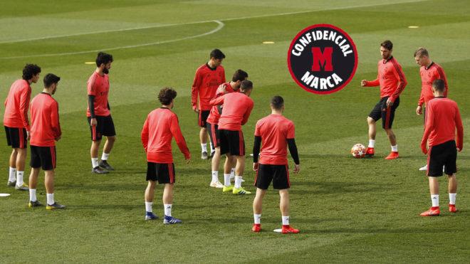 Los jugadores del Real Madrid c444239563bb6