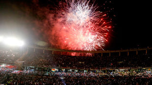 El Monumental de River Plate, es uno de los más imponentes