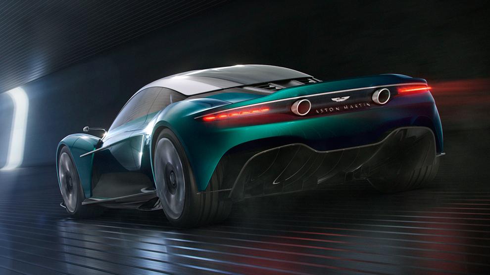 El Vanquish será un futuro rival para los V8 de Ferrari y...