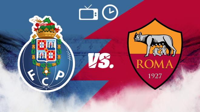 Resultado de imagen para Porto vs Roma