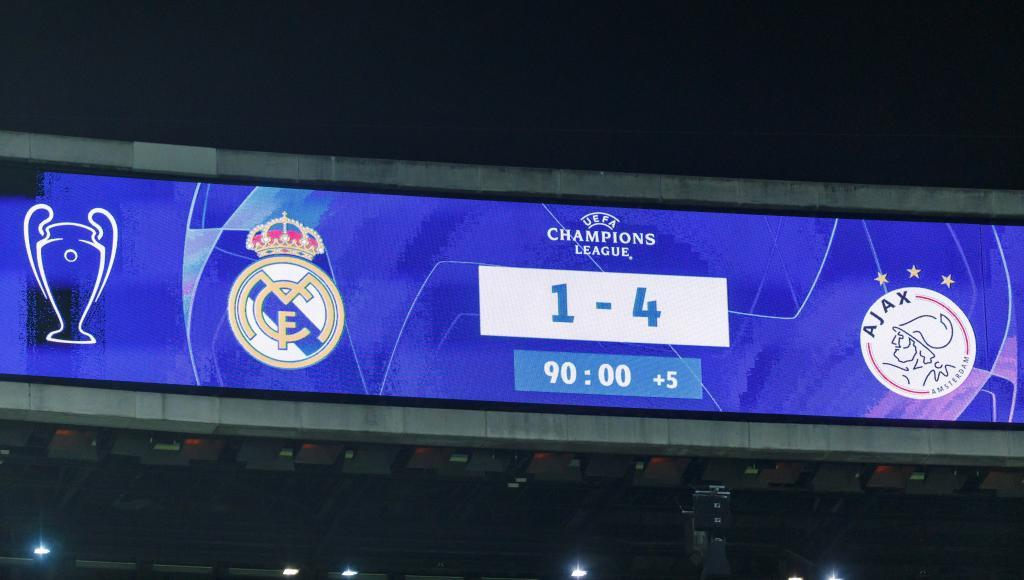 Champions League Ajax Rip Away Real Madrid S Crown Marca In English