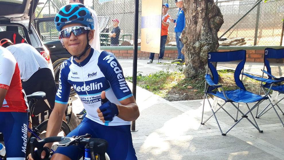 Oscar Sevilla gana etapa de montaña en la Vuelta Ciclista Independencia