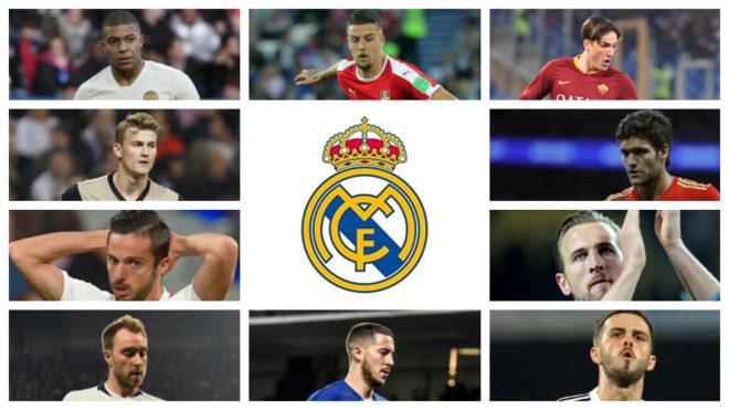 ¿Qué hay en el mercado para los puestos que busca reforzar el Real Madrid?