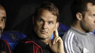 Frank de Boer, en el banquillo del Atlanta United