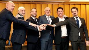 Neven Spahija, Pablo Laso, Goran Sasic, Zeljko Obradovic, Xavi Pascual...