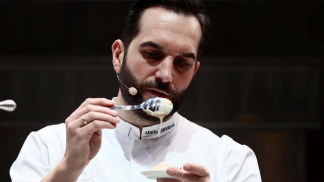El cocinero Mario Sandoval