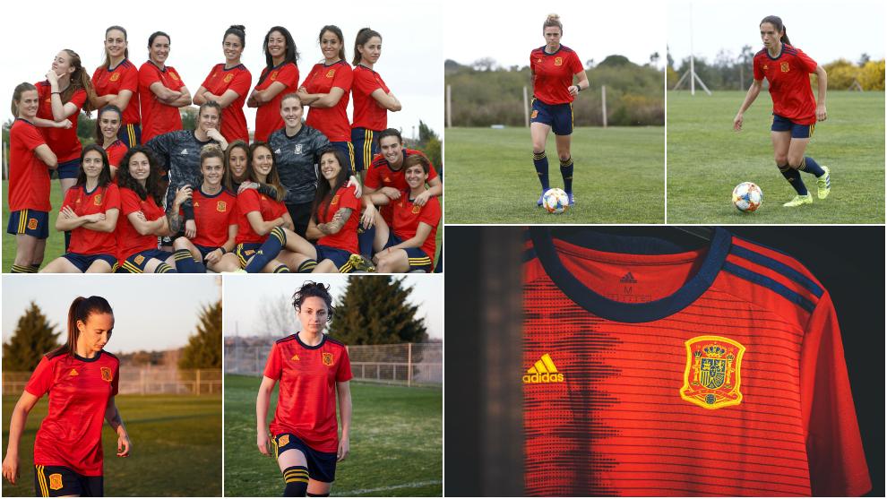 ccd32775b1769 ... La selección española presenta la camiseta para el Mundial de Francia  2019