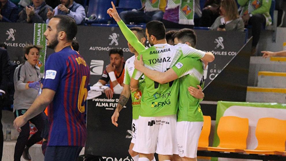 6bcfad8b83ad6 Palma Futsal hace de Son Moix un fortín