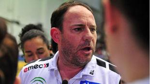 Diego Carrasco, técnico del Málaga Costa /