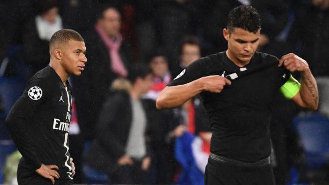 Mbappe and Thiago Silva.