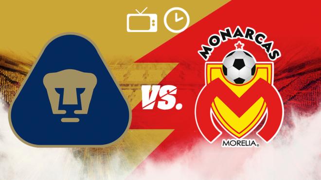 Resultado de imagen para Pumas vs Monarcas