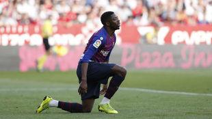 Dembélé es duda para el partido contra el Olympique de Lyon
