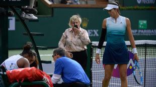 Serena sintió algunos mareos durante el segundo set