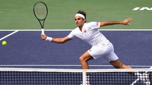 Federer tuvo un complicado segundo set